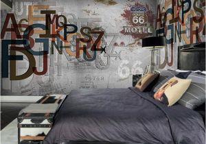 Vintage Landscape Mural Wallpaper Europe Stereoscopic 3d Graffiti Letters Retro Street Rock Wall