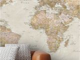 Vintage Map Wall Mural the Range Includes Historic World Maps that Depict the World