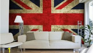 Vintage Wall Murals Uk A Vintage Wall Mural Of the Union Jack