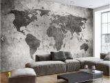 Vintage World Map Wall Mural Großhandel Europäische Vintage Retro Weltkarte Wand Bar Caffehäuser Murals Schlafzimmer Fototapete Landschaft Jeder Größe Von Fumei66 $30 6 Auf