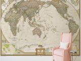 Vintage World Map Wall Mural Us $9 4 Off Custom Wall Mural World Map Wallpaper Retro Nostalgia Nautical Route Bedroom Study Room 3d Stereo Bathroom Wallpaper In Wallpapers