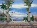 Vinyl Wall Mural Beach Murals for Walls