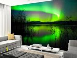 Vinyl Wall Murals Uk northern Lights Mirror