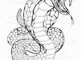 Viper Snake Coloring Page Viper Snake Coloring Page Cobra Pinterest