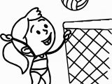 Volleyball Player Coloring Pages Free Coloring Pages for Girls Minion Swimsuit Images Cartoon Girl In