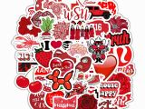 Vsco Girl Coloring Pages Us $1 99 Off 50pcs Cartoon Red Ins Style Vsco Girl Stickers for Laptop Moto Skateboard Luggage Refrigerator Notebook Laptop toy Sticker F5 On