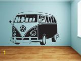 Vw Campervan Wall Mural Cool and Vw Bus Wall Stickers Wall Stickers Pinterest