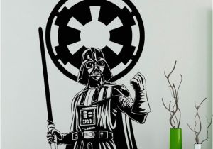 Walking Dead Wall Mural Darth Vader Star Wars Wall Vinyl Decal Skywalker Black Poster