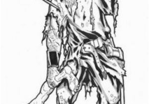 Walking Dead Zombie Coloring Pages 94 Best Coloring Page Horror Images On Pinterest In 2018