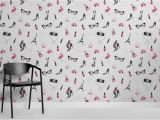 Wall Art Murals Uk Fashion Illustration Wallpaper Mural