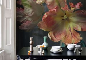 Wall Art Wallpaper Murals Uk Bursting Flower Still Mural Trunk Archive Collection From