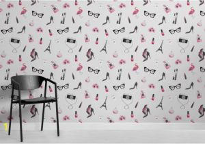 Wall Art Wallpaper Murals Uk Fashion Illustration Wallpaper Mural