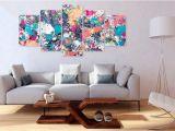 Wall Canvas Decor Mural Skleněn½ Obraz Lake Of Colours
