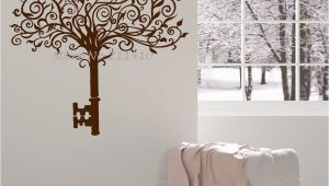 Wall Decals and Murals New Design Vinyl Wall Decal Abstract Tree Key Home Decor