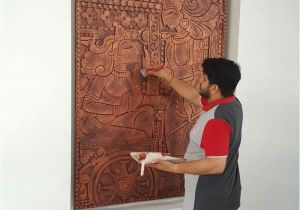 Wall Hanging Murals India Murals Sculpt Clay In 2019