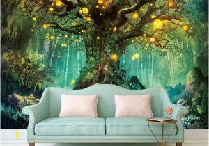 Wall Mural App Beautiful Dream 3d Wallpapers forest 3d Wallpaper Murals Home