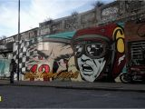 Wall Mural Artist London Murals — D Face