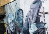 Wall Mural Artist London Street Art London Using News Articles & Google Images as