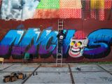 Wall Mural Artist Sydney A Chat with Graffiti Writer Nychos Street Art todaystreet