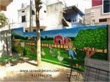 Wall Mural Artists In Hyderabad Play School Wall Paintings Picture Play School Wall Painting