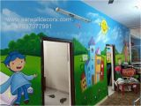 Wall Mural Artists In Hyderabad Wall Painting for Pre Primary School Hyderabad Wall Art for