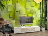 Wall Mural Behind Tv Custom Bamboo Wallpaper 3d Living Room sofa Bedroom Tv