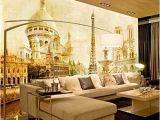 Wall Mural Behind Tv Lhdlily 3d Wallpaper Mural Wall Sticker Thickening