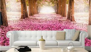 Wall Mural Cherry Blossom Trees Removable Wallpaper Pink Cherry Blossom Trees