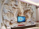 Wall Mural Cost Custom 3d Wall Murals Wallpaper Chinese Style Dragon Relief