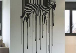 Wall Mural Decals Canada Vinyl Wall Decal Sticker Drippy Zebra Os Aa1337