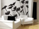 Wall Mural Decals Vinyl Daisies Wall Decal Floral Flower Home Decor Ac113