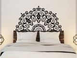 Wall Mural Decals Vinyl Headboard Wall Sticker Wall Mural Bed Bedside Mandala Vinyl Decals Kids Room Bedroom Giant Headboard Flower Home Decor Wall Stickers for Adults