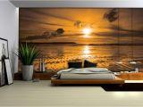 Wall Mural Decals Vinyl Wallpaper Mural Beach Sand Fleece Wallpaper Wall
