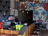 Wall Mural for Bar Tilting Heads Taco Cafe & Margarita Bar Port Elizabeth