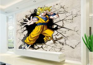 Wall Mural for Hallway Dragon Ball Wallpaper 3d Anime Wall Mural Custom Cartoon Wallpaper Boys Kids Bedroom Livingroom Wall Art Room Decor Hallway Nz 2019 From