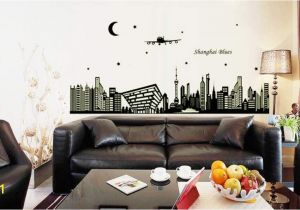 Wall Mural Glow In the Dark Amazon Msszff 3d Luminous Wall Stickers Shanghai
