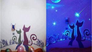Wall Mural Glow In the Dark Glow In the Dark Paint Wall Murals