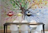 Wall Mural Ideas for Dining Room the Four Seasons • Dining Room Contemporary • Pixers • We