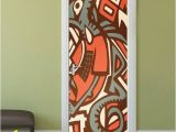 Wall Mural Installation Instructions Graffiti Door Decal Graffiti Wall Art Door Sticker