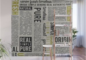 Wall Mural Installation Instructions Newspaper Wall Mural by Catherinedonato