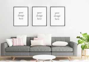 Wall Mural Mockup Frame Mockup Frame Mock Up Simple Mockup Living Room Mockup Frame