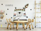Wall Mural Mockup Kids Wall & Frames Mockup Bundle 2 Product Mockups