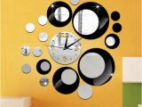 Wall Mural Paint by Numbers Kit Decorate Home 3d Number Mirror Clock Art Wall Sticker Decoration Decals Mural Painting Removable Decor Wallpaper G 12 14 Wall Clock 18 Wall Clock From
