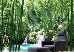 Wall Mural Painters Custom 3d Wall Murals Wallpaper Bamboo forest Natural Landscape Art
