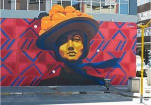 Wall Mural Painters Johannesburg Chan Hecolors A New Vibrant Mural From Dourone In Downtown