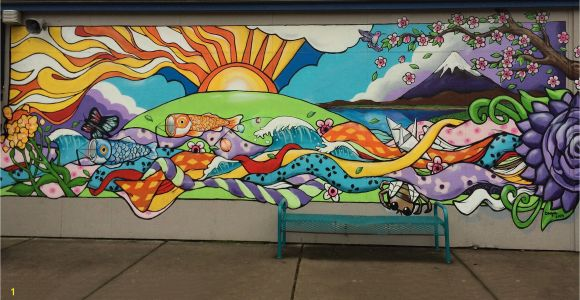 Wall Mural Painters Near Me Elementary School Mural Google Search