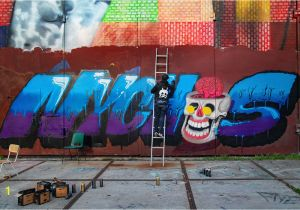 Wall Mural Painters Sydney A Chat with Graffiti Writer Nychos Street Art todaystreet