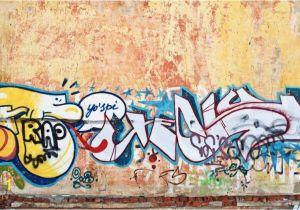 Wall Mural Painters Sydney Rustic Wall Graffiti Wallpaper Wall Mural In 2020