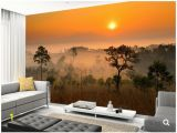 Wall Mural Painting Kits Custom Landscape Wallpaper forest Canopy 3d Nature