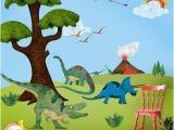 Wall Mural Painting Kits Dinosaur Wall Sticker Decal Kit Jumbo Set